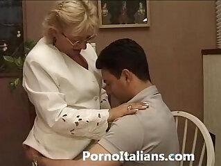 granny, italian, mature