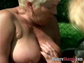 amazing asians, granny, outdoor, plumper