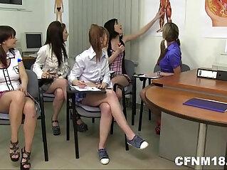 cfnm, school, schoolgirl
