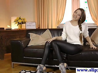 casting, high heels, russian, young, young and old