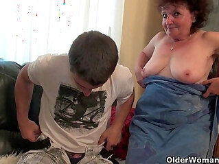 asian cock, granny, mom