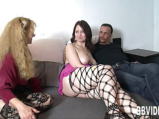 3some, asian cock, brunette, busty, german, hitchhiker, piercing