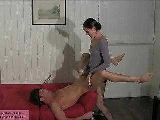 ass, gaping, lesbian, panties, pantyhose, sister, stepmom