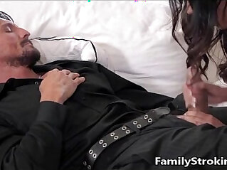 blowjob, daddy, daughter, family orgy, stepmom