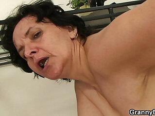asian cock, granny, riding, skinny