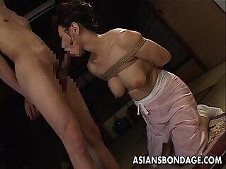 asian cock, bondage, japanese, MILF, sexy japan, sucking