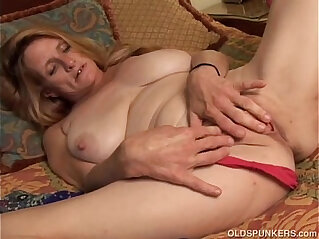 juicy - Slutty old spunker wishes you were fucking her juicy pussy