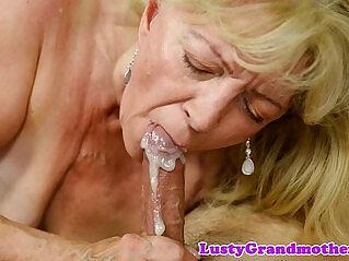ass, chinese tits, cum, grandma