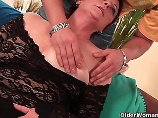 asian cock, grandma, hairy cunt, pussy, wet