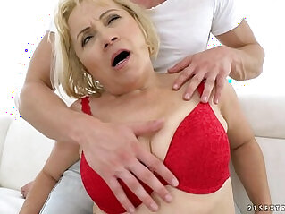 anal, blonde, doll, granny, old, old and young