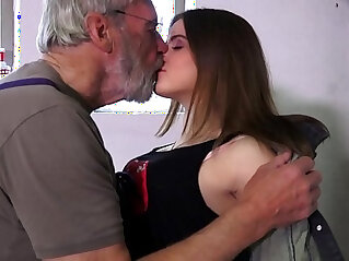 chinese tits, grandpa, hairy cunt, horny, innocent, old, petite, pussy