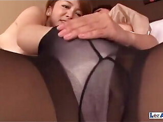 asian, chinese tits, couch, dildo, DP, panties, pantyhose, rubbing