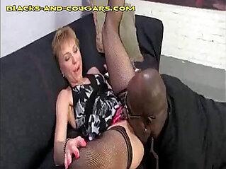black, blonde, dick, mature, sucking