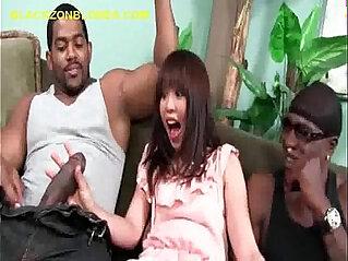 asian, black, stud, sucking