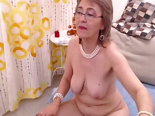 gaping, granny, lesbian, mother, sex toy