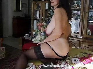 french, hairy cunt, mature, pussy, rubbing, wet