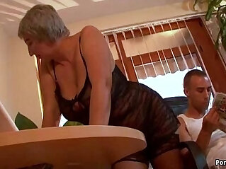 asian cock, busty, dick, granny, hitchhiker, old, young, young and old