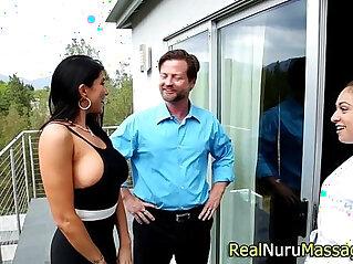 asian, ass, juggs, massage