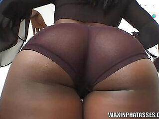 black, booty, latina