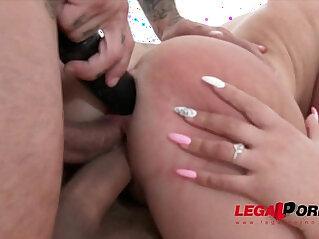 anal, asian cock, big cock, black, butt, DP, pussy, slut